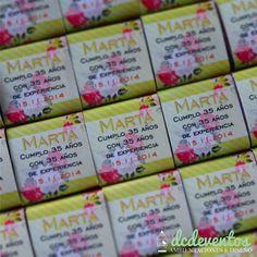 #Bocaditos #marroc #personalizados para #cumpleaños, #casamientos, #15años #souvenir #candybar