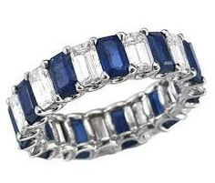 sapphire eternity ring - Google Search