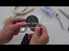 Sashiko is all the rage. Learn some hand-sashiko techniques on this episode of Quilty with Mary. Sashiko Embroidery, Folk Embroidery, Embroidery Stitches, Embroidery Designs, Broderie Anglaise Fabric, Milly And Molly, Boro Stitching, Patchwork Fabric, Japanese Textiles
