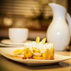 Torta Banoffe (torta de banana com doce de leite)