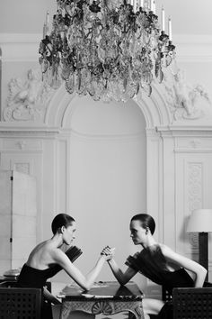 Yves Saint Laurent presents their return to Haute Couture.