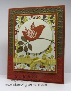 Stamping to Share: 6/5 Stampin' Up! Betsy's Blossoms