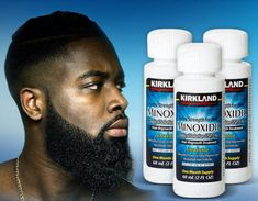 Kirkland Minoxidil Beard Growth Beard Hair Growth, Hair Grower, Bald Patches, Hair Shedding, Full Beard, Hair Regrowth, Beard Oil, Crochet Hair Styles, Root Beer