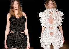 3D Printed Haute Couture Collection by Iris van Herpen ~ Shape Muse