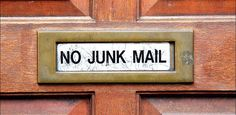 How to Banish Spam Mail, Email, and Phone Calls From Your Life