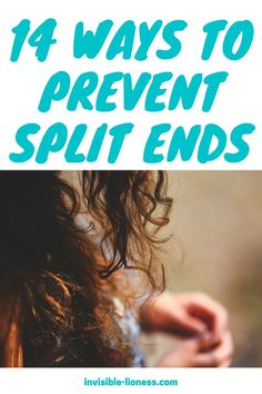 Wondering how to get rid of split ends? Unfortunately, there is no way to repair split ends. But there are many ways to prevent your hair from breaking! Easy Hairstyles For Long Hair, Messy Hairstyles, Healthy Hair, Healthy Life, Grow Long Hair, Split Ends, Hair Care Tips, How To Get Rid, Your Hair