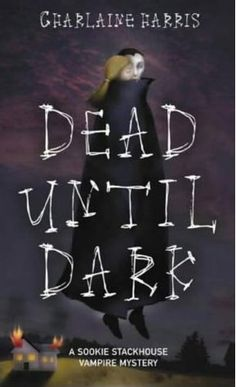 Dead Until Dark by Charlaine Harris: Love blossoms between Sookie Stackhouse, a cocktail waitress in rural Louisiana who keeps to herself because of her ability to read minds, and Bill, a tall, dark, and handsome vampire with ties to a creepy crowd that may be responsible for the death of one of Sookie's coworkers