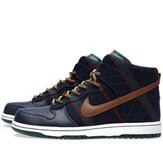 $185.00  Nike X Fox Brothers High Dunk http://www.variied.com/products/nike-fox-brothers-high-dunk/  #dunks #nike #shoes #sneakers  #streetwear #urabnstyle #fashion #urbanfashion