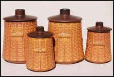 Kitchen:Orange Kitchen Canisters Ceramic Orange Kitchen Canisters Ceramic 6