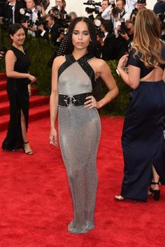 Zoe Kravitz at the Met Gala 2015. Click on the image to see more looks.