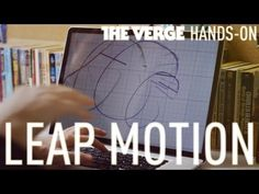 [This has potential. I've pinned it before, but this video gives a better idea of how it's going to work.] Leap Motion hands-on