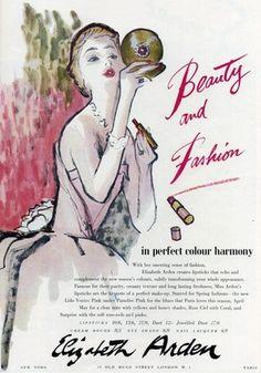 Vintage Elizabeth Arden ad