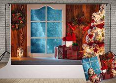 Aosto Photography Backdrops Christmas Day Celebration Party Decor Photo Background Christmas Holiday Family Backdrop XT-6294