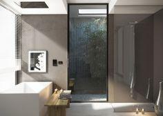 CALFLEX SRL- AMBIENT SOBRIO ED ELEGANTE DA RICREARE DIRETTAMENTE A CASA TUA Shower Fittings, Building Materials, Bathroom Lighting, Bathtub, Mirror, Furniture, Space, Home Decor, Window Glass