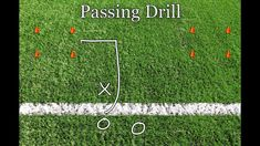 Youth Flag Football Defense Drill - One on One Flag Pulling Football Passing Drills, Flag Football Drills, Flag Football Plays, Football Defense, Youth Football, Baseball Field, Football Stuff, Behind The Lines, Cool Things To Make