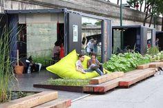 Reorganizing the public space | Inspiring riverbank project | Franklin Azzi Architecture |Berges de Seine, Paris