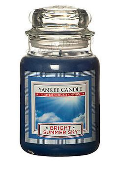 Yankee Candle Limited Summer Edition Bright Summer Sky - 22oz Large Lidded Jar