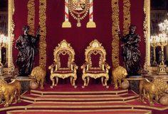 Salle du trône - Palacio Real de Madrid,