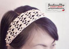 Crochet headband DIY