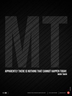 Mark Twain Quote Poster Print by NaxArt at AllPosters.com