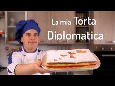 La mia TORTA DIPLOMATICA ❤️| Ricetta facile e veloce | Lorenzo in cucina - YouTube Biscotti, 15 August, Mamma, Pane, Food And Drink, Homemade, Baking, Desserts, Fig Salad