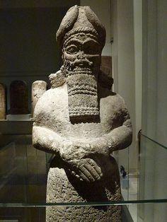 Ancient Assyrian sculpture