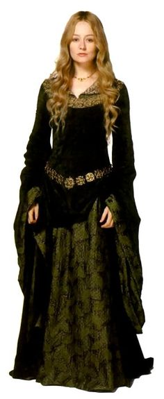 Eowyn's green dress. :)