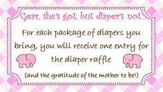Baby Shower Diaper Raffle Poem | shower baby gift diapers raffle poems baby 2014 baby aubree raffle ... Baby Shower Cards, Baby Shower Themes, Baby Boy Shower, Baby Shower Gifts, Baby Gifts, Shower Ideas, Baby Showers, Diaper Raffle Poem, Diaper Raffle Tickets