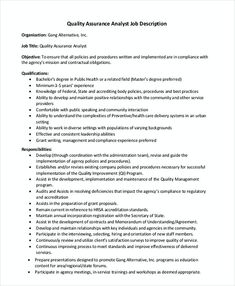 Marketing event coordinator cover letter events manager cover quality assurance analyst job description 1 quality assurance manager resume sample are you seeking spiritdancerdesigns Gallery