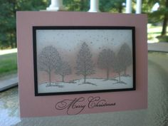 ff16va.sunshine Pink Christmas~ by stampin'nana - Cards and Paper Crafts at Splitcoaststampers