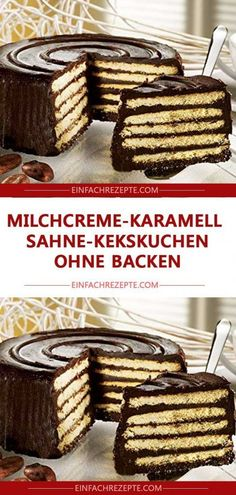 Milk cream caramel cream biscuit cake without baking 😍 😍 😍- Milchcreme-Karamell-Sahne-Kekskuchen ohne Backen 😍 😍 😍 Milk cream caramel cream biscuit cake without baking 😍 … - Authentic Mexican Recipes, Mexican Salsa Recipes, Pastry Recipes, Cake Recipes, Dessert Recipes, Cake Vegan, Cream Biscuits, Biscuit Cake, Cake Online