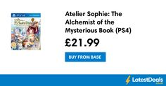 Atelier Sophie: The Alchemist of the Mysterious Book (PS4), £21.99 at Base