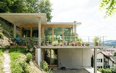 build a house on a steep slope - Google Search