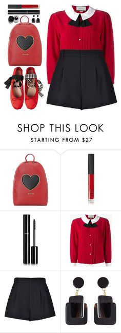 """""""#979 Wanda"""" by blueberrylexie ❤ liked on Polyvore featuring Love Moschino, NARS Cosmetics, Chanel, Gucci, RED Valentino, Marni and Bobbi Brown Cosmetics"""