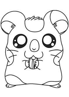 find this pin and more on hamtaro by andrajeans pictures hamster oxnard coloring pages