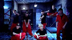 "MONSTA X releases prison break version of ""Trespass"" MV"