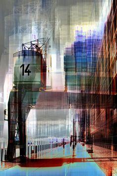 'Kran Nr. 14' von Ernst Fettweis bei artflakes.com als Poster oder Kunstdruck $19.41