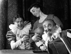 In honor of the #Shakespeare play that will open and close our #OSF2016 season, we're throwing it back to 1951's production of #TwelfthNight. Pictured here are Brad Curtis, Ann Eckstein and OSF founder Angus L. Bowmer. Ann is more famously known as Ann Morgan Guilbert, and under than name she starred on The Dick Van Dyke Show as neighbor Milly and as the nanny's grandma on The Nanny. #TwelfthNightOSF #tbt #OSFArchives