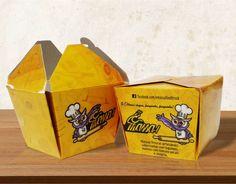 Caixa para comida / Embalagens Personalizadas