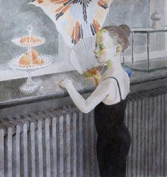 Always a small ballerina - Marjatta Hanhijoki, Finnish, watercolour , 112 x 105 cm Tinkerbell, Finland, Ballerina, Disney Characters, Fictional Characters, Watercolours, Disney Princess, Painting, Art