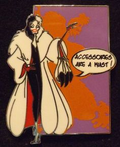 View Pin: DLP Disney Pop Villains - Cruella De Vil