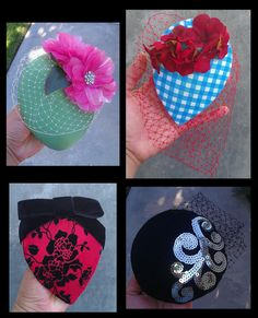 Project Idea: D.I.Y. cocktail hats & fascinators, by Margarita Rodriguez on PinupGirlStyle.com (19 Jul. 2012)