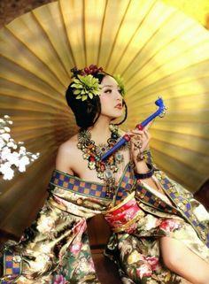 Fashion ★Hermosa Diosa oriental