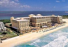 Ritz Carlton Cancun-one of my favorite hotels. It's completely off the strip and a so peaceful.