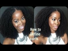 Defining Curls| Blending Natural hair with a Kinky Curly Wig: ft. Hergivenhair Coily Texture - YouTube