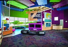 Gulf Gate Public Library Teen lounge
