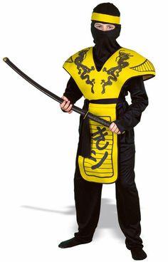 yellow ninja costume - Bing Images