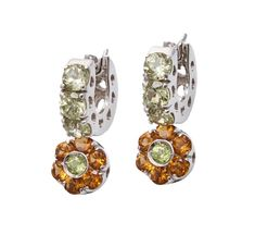 (18JD) 18ct White Gold Pasquale Bruni Fiori Earrings n\A pair of Fiori earrings. Pasquale Bruni. Twelve claw set round mixed… / MAD on Collections - Browse and find over 10,000 categories of collectables from around the world - antiques, stamps, coins, memorabilia, art, bottles, jewellery, furniture, medals, toys and more at madoncollections.com. Free to view - Free to Register - Visit today. #Jewelry #Earrings #MADonCollections #MADonC