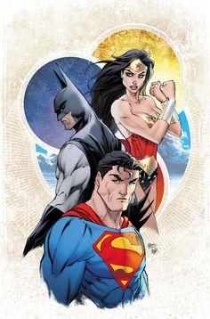DC Rebirth - Une variante de Justice League #1 par Michael Turner | DCPlanet.fr