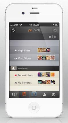Picbigd #digitaldesign #design #app Web Design Trends, Ui Design, Digital Web, Application Design, Ui Inspiration, Mobile Design, Mobile Ui, Interactive Design, Ui Ux